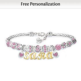 My Granddaughter, My Love Personalized Bracelet