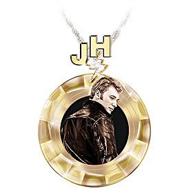 Merci Johnny Pendant Necklace