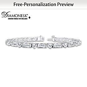 My Precious Family Personalized Bracelet
