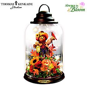 Thomas Kinkade Season's Golden Glow Lantern