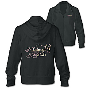 She Believed She Could Women's Hoodie