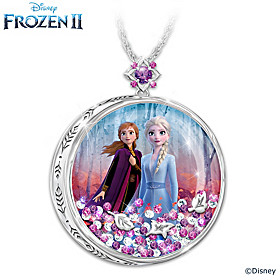 Disney FROZEN 2 Believe In The Journey Pendant Necklace