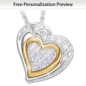 Love For All Year Personalized Pendant Necklace
