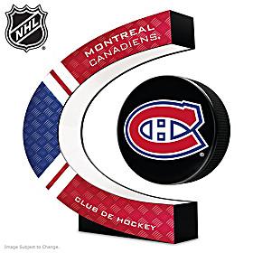 Montreal Canadiens® Levitating Puck Sculpture