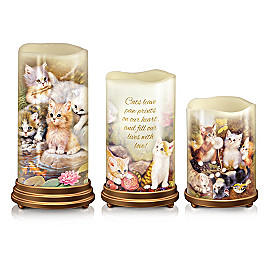Paw Prints On Your Heart Candle Set