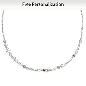 Names That I Love Personalized Necklace