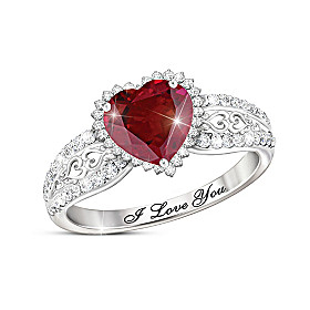 With All My Heart Ring