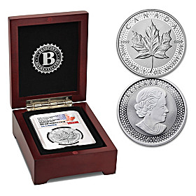2019 Early Release Enhanced Proof Silver Maple Coin