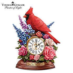 Thomas Kinkade Time Heals All, But Love Never Fades Clock