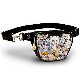 Sassy Cats Belt Bag