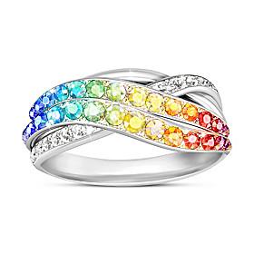 Fire Rainbow Ring