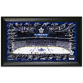 Toronto Maple Leafs® Rink Wall Decor