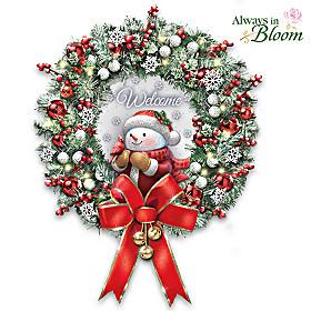 Warm Winter's Welcome Wreath