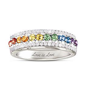 Ladies Pride Ring