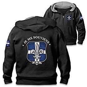 Spirit Of Quebec Men's Hoodie