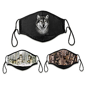 Spirits Of The Pack Face Mask Set
