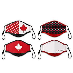 Canadian Pride Face Mask Set