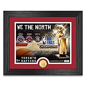 We The North Toronto Raptors Wall Decor