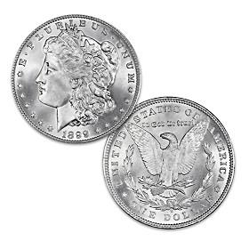 The Micro-O Error Morgan Silver Dollar Coin