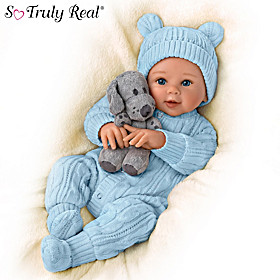 Aiden, My Snuggle Pup Baby Doll And Plush Dog Set