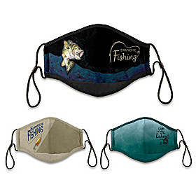 Fishing Face Mask Set