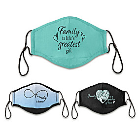 Family Is Love Face Mask Set