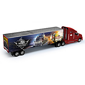 Without Truckers, Canada Stops Diecast Cab & Trailer