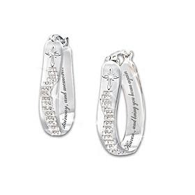 Always In My Heart Diamond Earrings