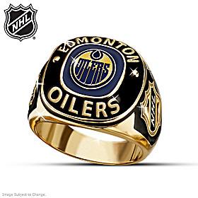 NHL® Edmonton Oilers® Ring