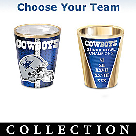 NFL Shot Glass Collection