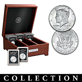 20th Century U.S. Silver Half Dollar Coin Collection