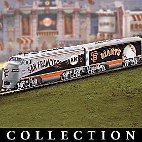 San Francisco Giants Express Train Collection