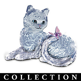 Sophisticats Crystal Cat Figurine Collection