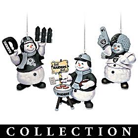 Las Vegas Raiders Coolest Fans Ornament Collection