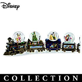Disney Wonderland Express Snowglobe Collection