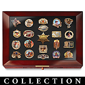 John Wayne Tribute Pin Collection