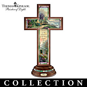 Thomas Kinkade Light Of Faith Cross Collection