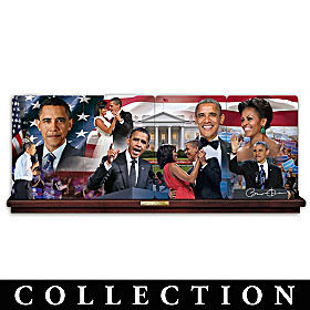 America's First Couple Collector Plate Collection