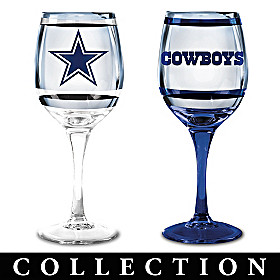 Dallas Cowboys Wine Glass Collection