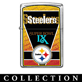 History Of Champions Steelers Zippo® Lighter Collection