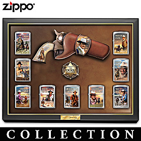 John Wayne Great American West Zippo® Lighter Collection
