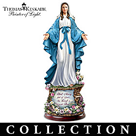 Thomas Kinkade Blessed Mother Sculpture Collection
