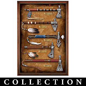 Historic Pipe Tomahawk-Inspired Wall Decor Collection