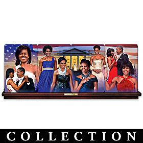 Michelle Obama: America's First Lady Plate Collection