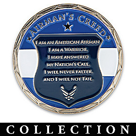 U.S. Air Force Commemorative Challenge Coin Collection