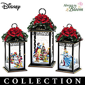 Disney Magic Of The Season Lantern Collection