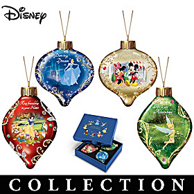 Disney Dazzling Dreams Ornament Collection