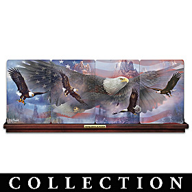 Soaring Spirits Of Freedom Collector Plate Collection