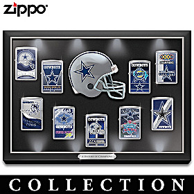 Legendary Dallas Cowboys Zippo® Lighter Collection