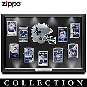Legendary Dallas Cowboys Zippo® Lighter Collection